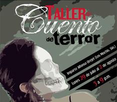 """""""Instrucciones siniestras para escribir relatos de terror""""."""