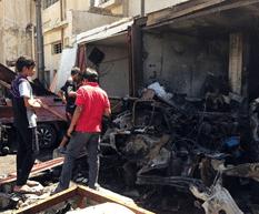 Ola de atentados en Irak