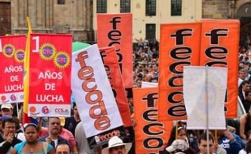 Convocan maestros colombianos a huelga nacional