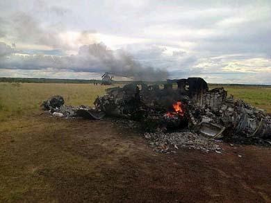 Ya están en México pasajeros de la avioneta derribada
