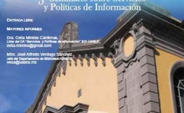 """3er Seminario sobre """"Servicios y Políticas de Información"""""""