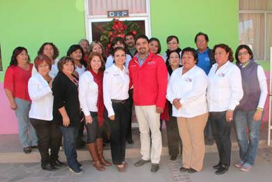 Visita el Alcalde las instalaciones del Sistema DIF