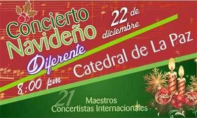 Concierto Navideño diferente en Catedral