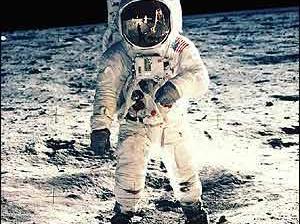 Que EU nunca estuvo en la luna