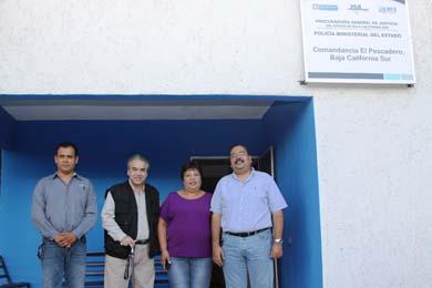 Inauguran comandancia Ministerial en El Pescadero