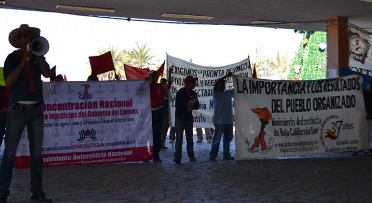 Ignora el Gobierno a manifestantes antorchistas