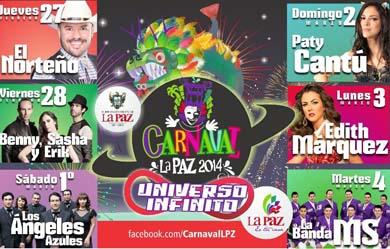 Presentan programa del Carnaval La Paz