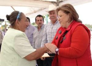 Esthela Ponce Beltrán en La Trinidad