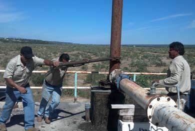 Moderniza OOMSAPASLC pozos de extracción