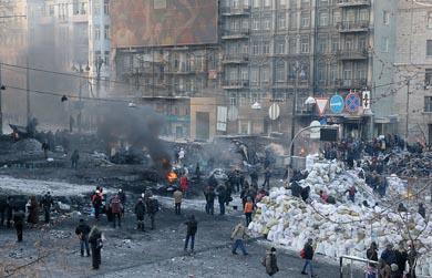 Ucranianos en pie de lucha