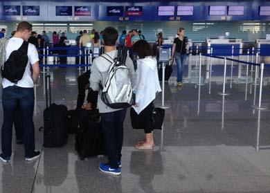 No ha mermado el flujo de pasajeros en el Aeropuerto