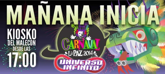 Carnaval La Paz 2014.