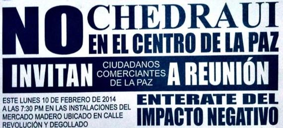No al Chedraui
