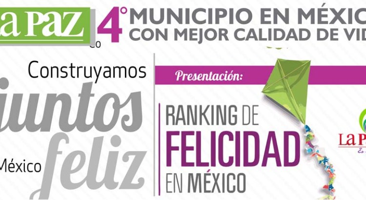 """La Paz, al """"Ranking de la Felicidad"""""""