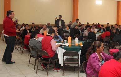 Visita Barroso comunidades del norte del Estado