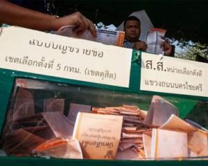 elecciones en Tailandia