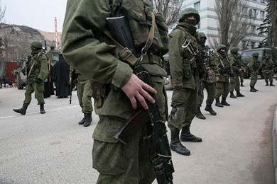 Toman tropas rusas el control de Crimea