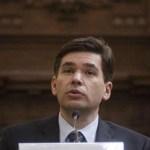 El subsecretario de Hacienda, Fernando Aportela
