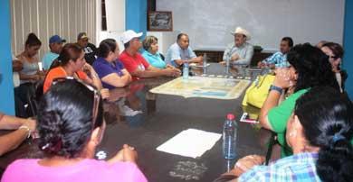 Se reúne Alcalde con el Sindicato de Burócratas