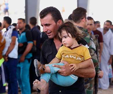 Toman Yihadistas otra ciudad en Irak