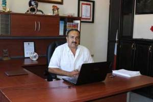 El secretario general Marcelo Talamantes