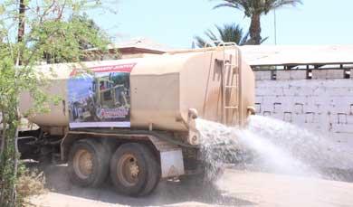 Arreglan calles en las colonias Miramar y Obrera