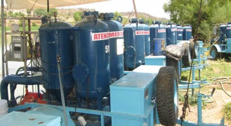 Urgen a la CONAGUA planta potabilizadora portátil
