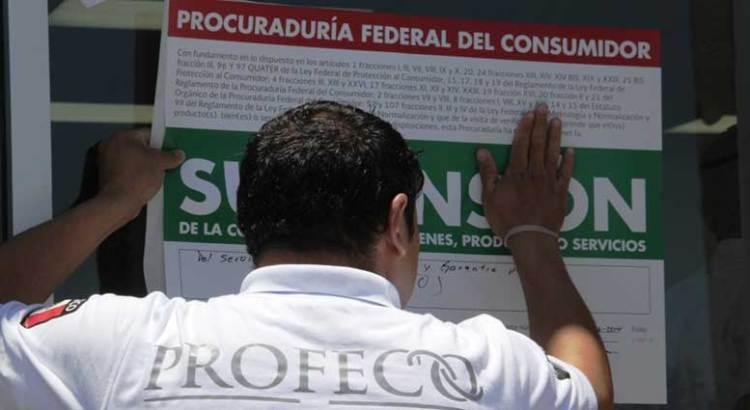 Suspende PROFECO 11 casas de empeño