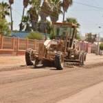 Se están llevando a cabo los trabajos del arreglo de calles en diferentes arterias de la capital comundeña.