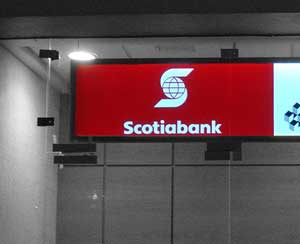 Asaltaron el Scotia Bank
