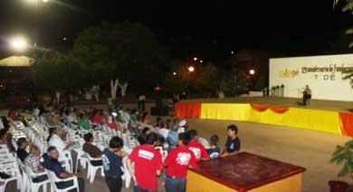 Conmemoran Fundación de Santa Rosalía