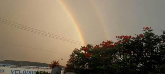 Dicen que ver un arcoíris es de buena suerte