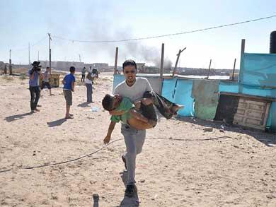 Mata Israel a cuatro niños palestinos