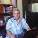 El director de Seguridad y Transito Municipal Guadalupe Álvarez.
