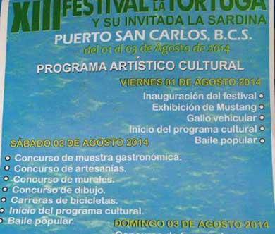 Festival de la Tortuga y la Sardina