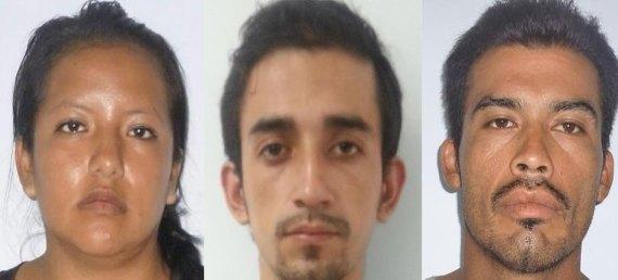 Blanca Flor Gutiérrez Jiménez, Edgar Daniel Escudero Sánchez y Francisco Javier Garnica Aripez.