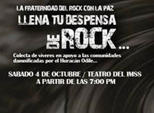 Llena tu Despensa de Rock