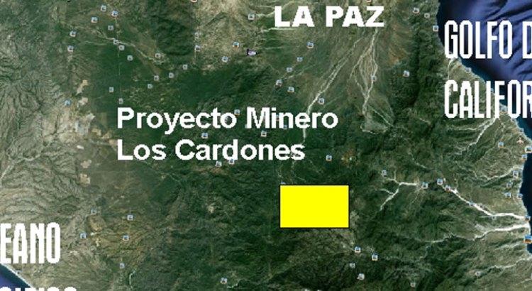 Suspenden proyecto minero Los Cardones