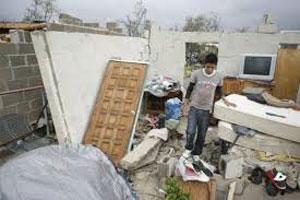 Casas afectadas por Odile