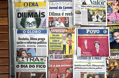 Tira los mercados el triunfo de Dilma