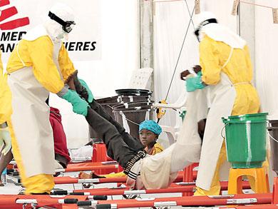 Prevén 10 mil 000 casos de ébola por semana