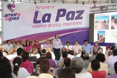 Inicia programa de embellecimiento de La Paz