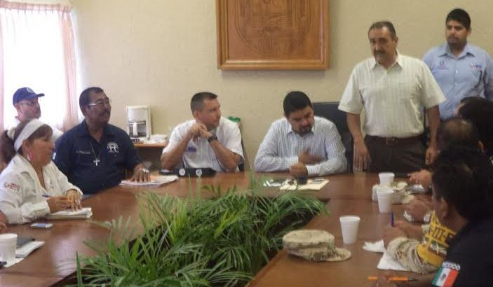 Sesiona Comité de Protección Civil
