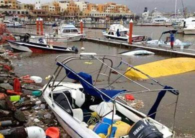 A pesar de los daños, ya opera la marina de CSL