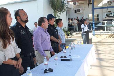Arranca séptimo curso de formación policial