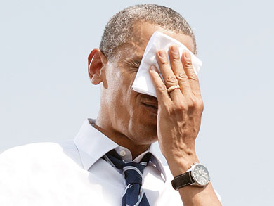 A Obama ya le pegó el ébola
