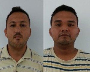 Fidel Cárdenas Jaramillo y Jonathan Rubén Cisneros Mendoza.