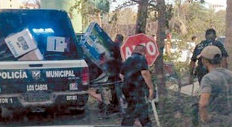 13 policías implicados en actos de rapiña