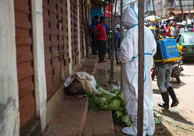Se agrava epidemia de ébola en Sierra Leona