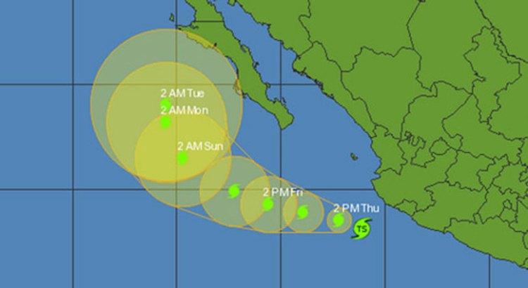 Se forma la tormenta tropical Simon